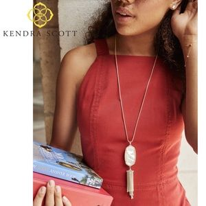 Kendra Scott Rayne Gold Long Necklace
